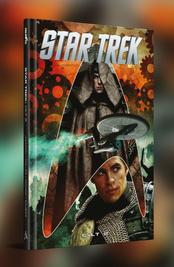 Star Trek Cilt 2 (7 - 12. Sayılar Birarada / Sert Kapak)