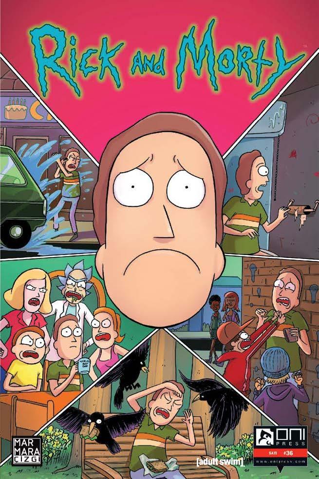 Rick and Morty Sayı 36