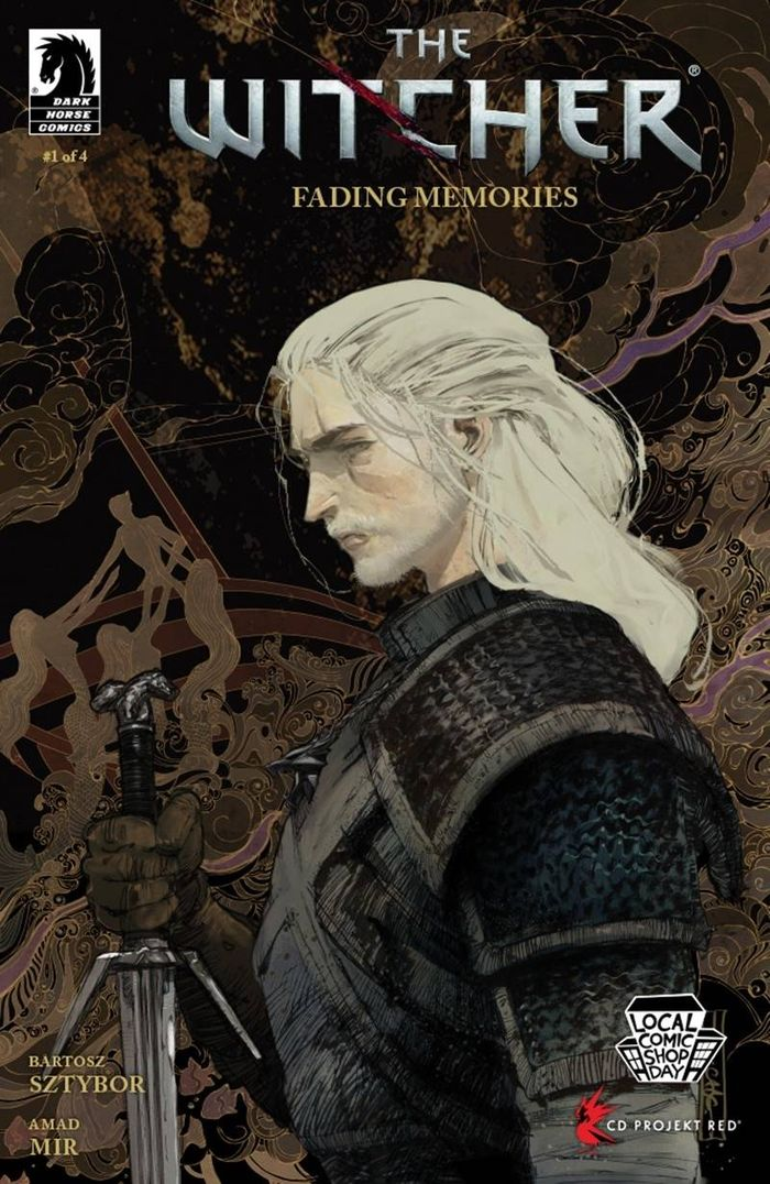 WITCHER FADING MEMORIES #1 (OF 4) COVER A