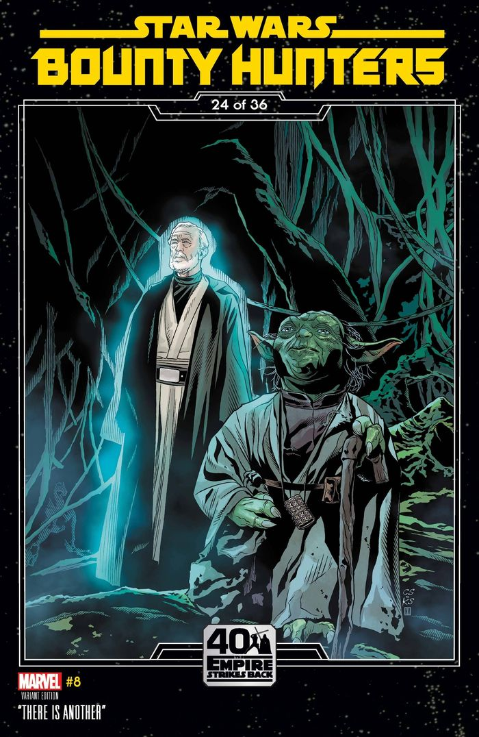 STAR WARS BOUNTY HUNTERS #8 SPROUSE EMPIRE STRIKES BACK VARIANT