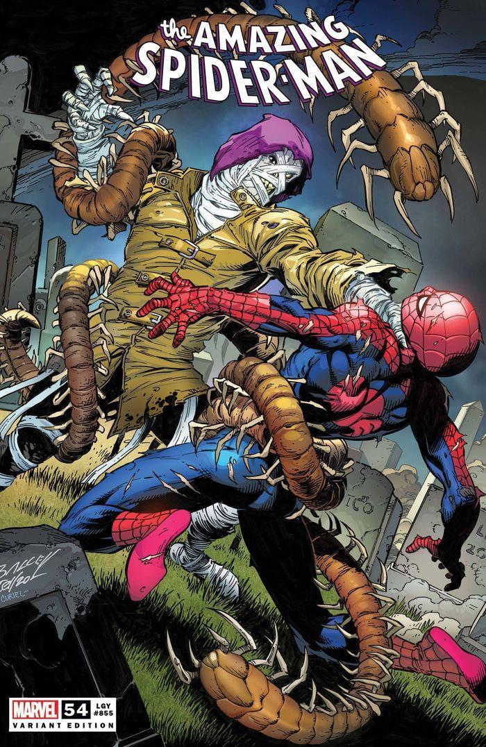 AMAZING SPIDER-MAN #54 BAGLEY VARIANT LR