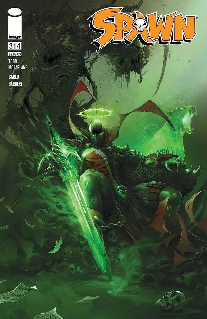 SPAWN #314 COVER A MATTINA