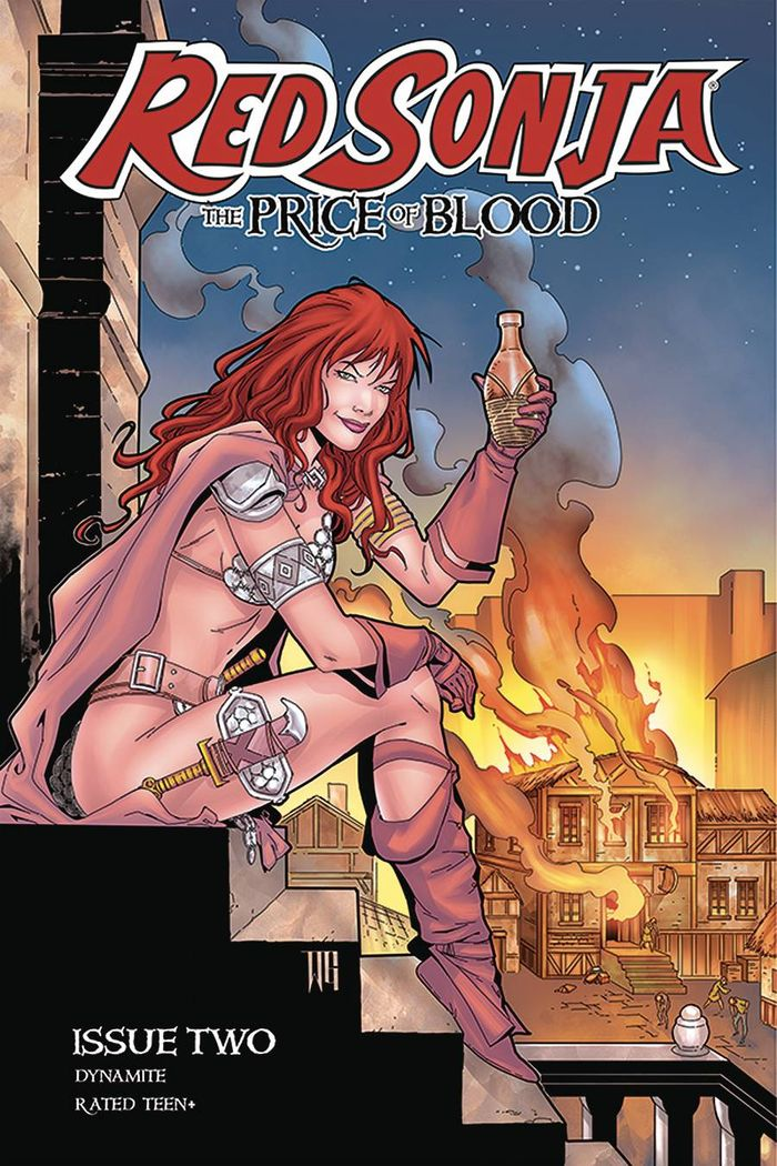 RED SONJA PRICE OF BLOOD #2 COVER D GEOVANI