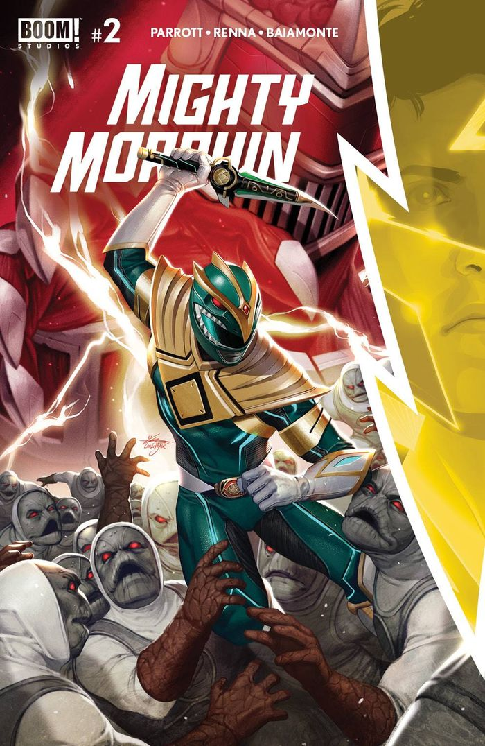 MIGHTY MORPHIN #2 COVER A MAIN