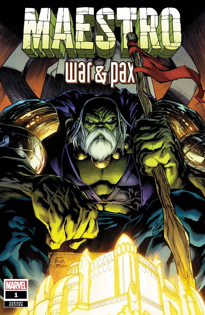 MAESTRO WAR AND PAX #1 (OF 5) STEGMAN VARIANT
