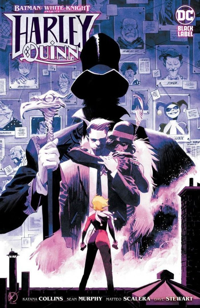 BATMAN WHITE KNIGHT PRESENTS HARLEY QUINN #4 (OF 6) COVER B MATTEO SCALERA