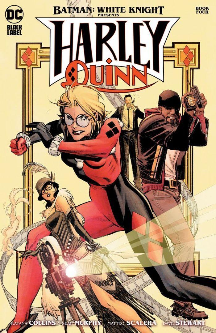BATMAN WHITE KNIGHT PRESENTS HARLEY QUINN #4 (OF 6) COVER A SEAN MURPHY