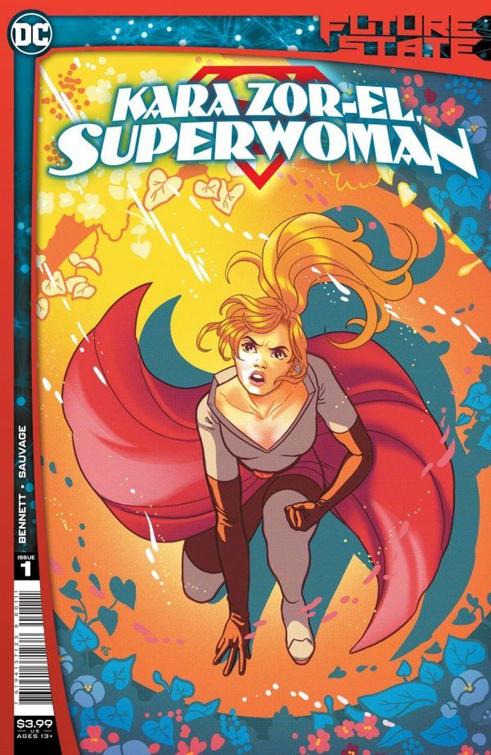 FUTURE STATE KARA ZOR-EL SUPERWOMAN #1 (OF 2) COVER A PAULINA GANUCHEAU