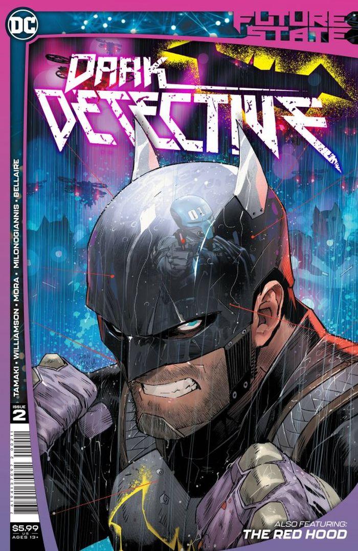 FUTURE STATE DARK DETECTIVE #2 (OF 4) COVER A DAN MORA
