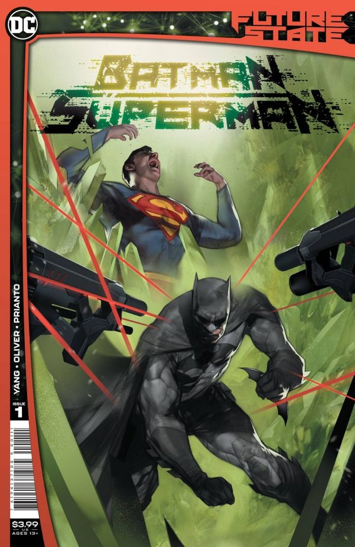 FUTURE STATE BATMAN SUPERMAN #1 (OF 2) COVER A BEN OLIVER