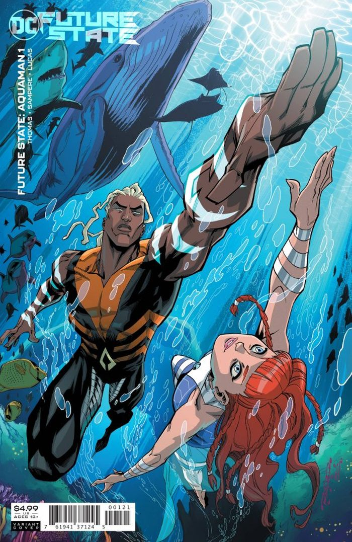 FUTURE STATE AQUAMAN #1 (OF 2) COVER B KHARY RANDOLPH CARD STOCK
