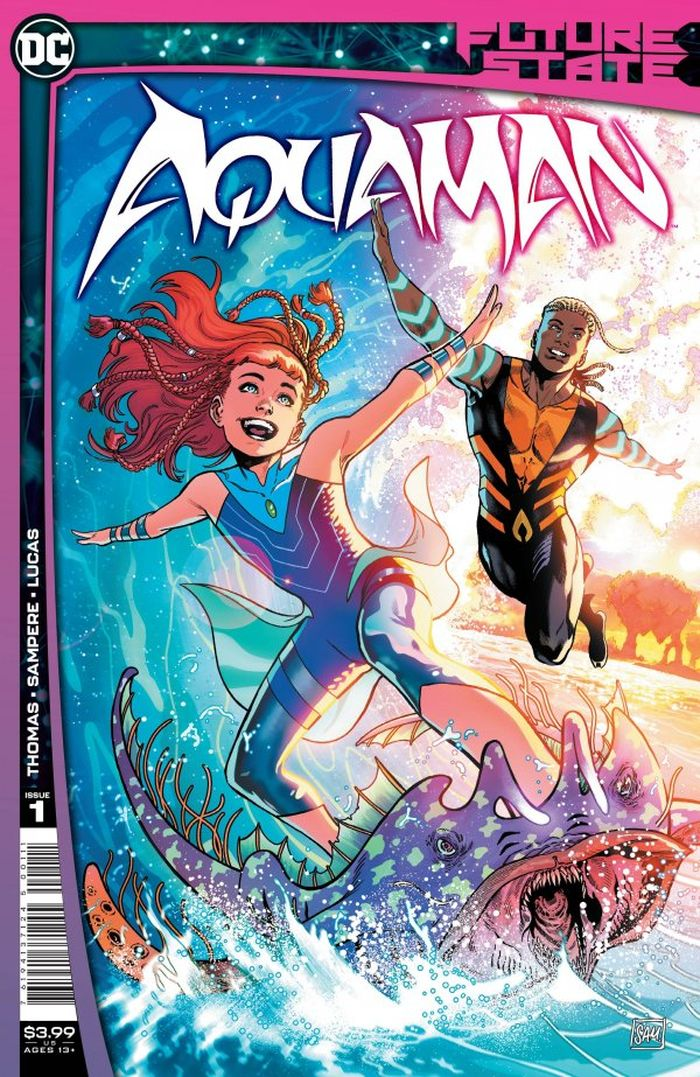 FUTURE STATE AQUAMAN #1 (OF 2) COVER A DANIEL SAMPERE
