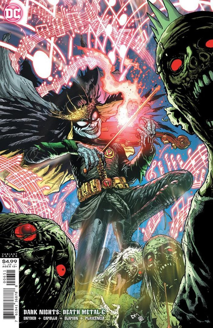 DARK NIGHTS DEATH METAL #6 (OF 7) INC 1:25 DOUG MAHNKE VARIANT