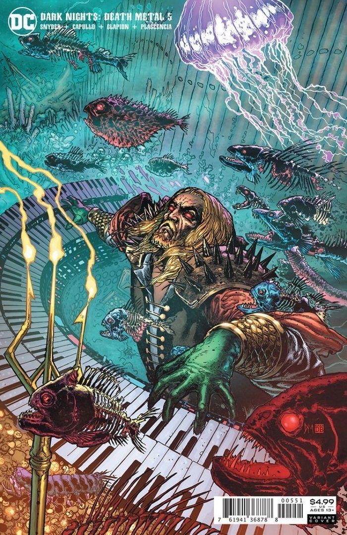 DARK NIGHTS DEATH METAL #5 (OF 7) INC 1:25 DOUG MAHNKE VARIANT