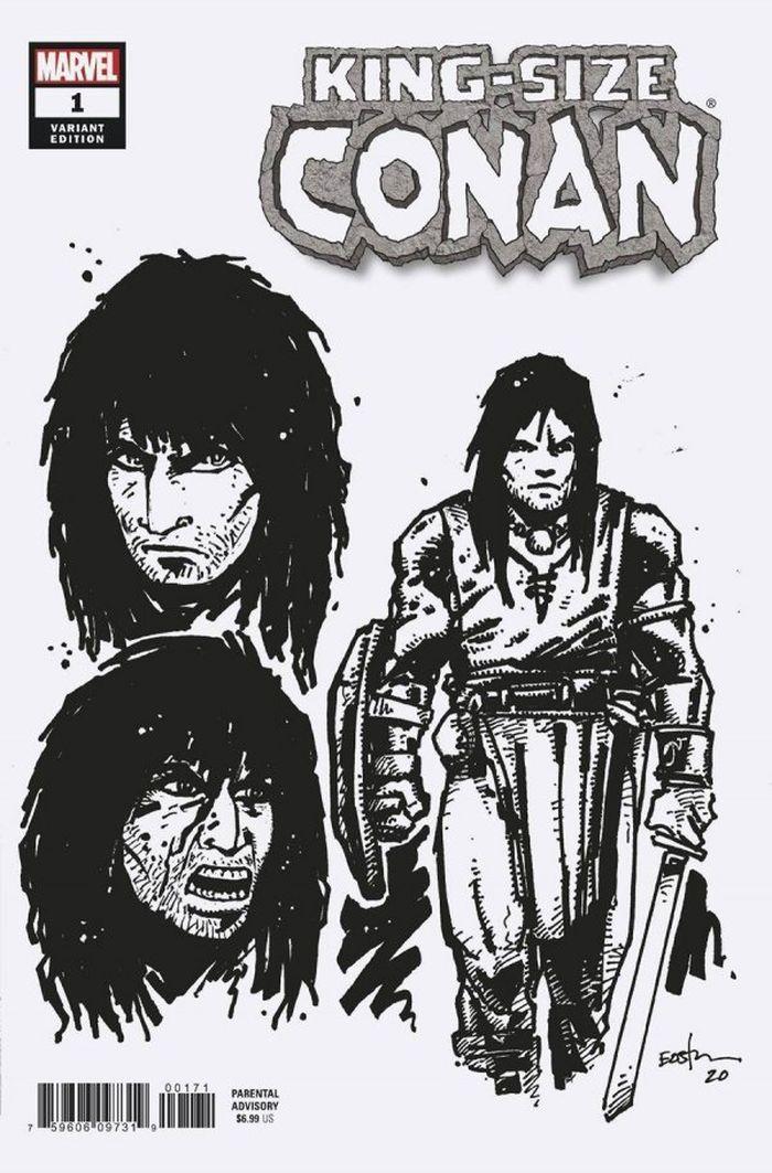 KING-SIZE CONAN #1 - 1:10 EASTMAN DESIGN VARIANT