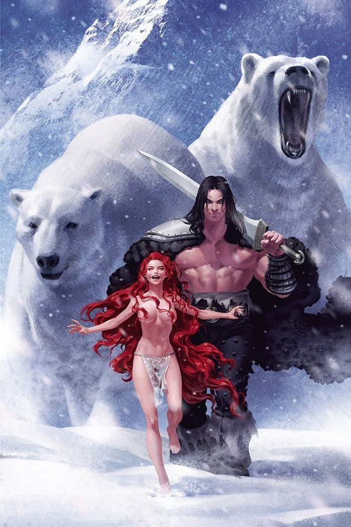 CIMMERIAN FROST GIANTS DAUGHTER #1 COVER B YOON