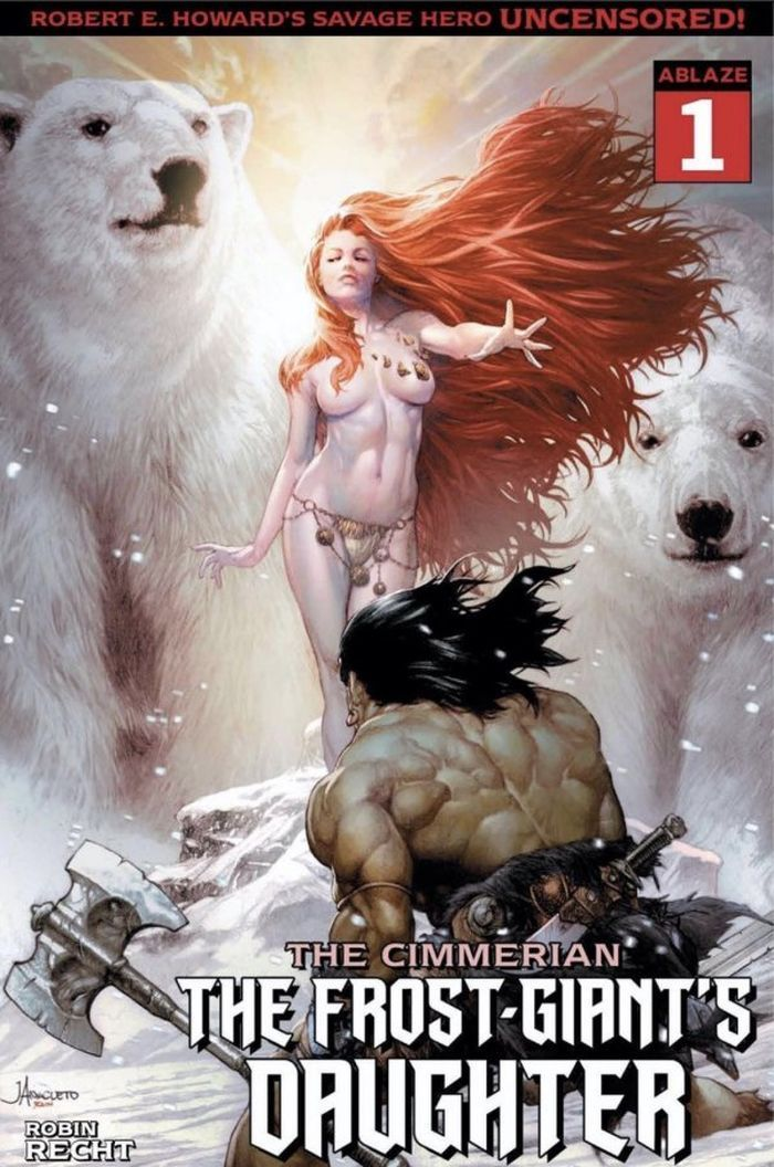 CIMMERIAN FROST GIANTS DAUGHTER #1 COVER C ANACLETO