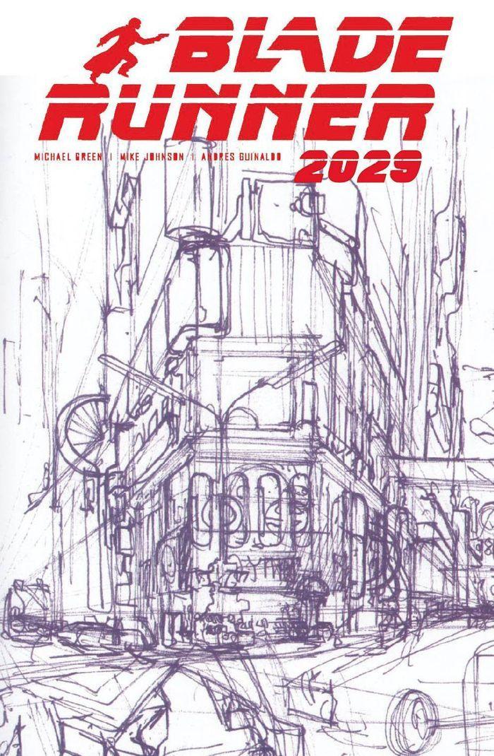 BLADE RUNNER 2029 #1 COVER B MEAD