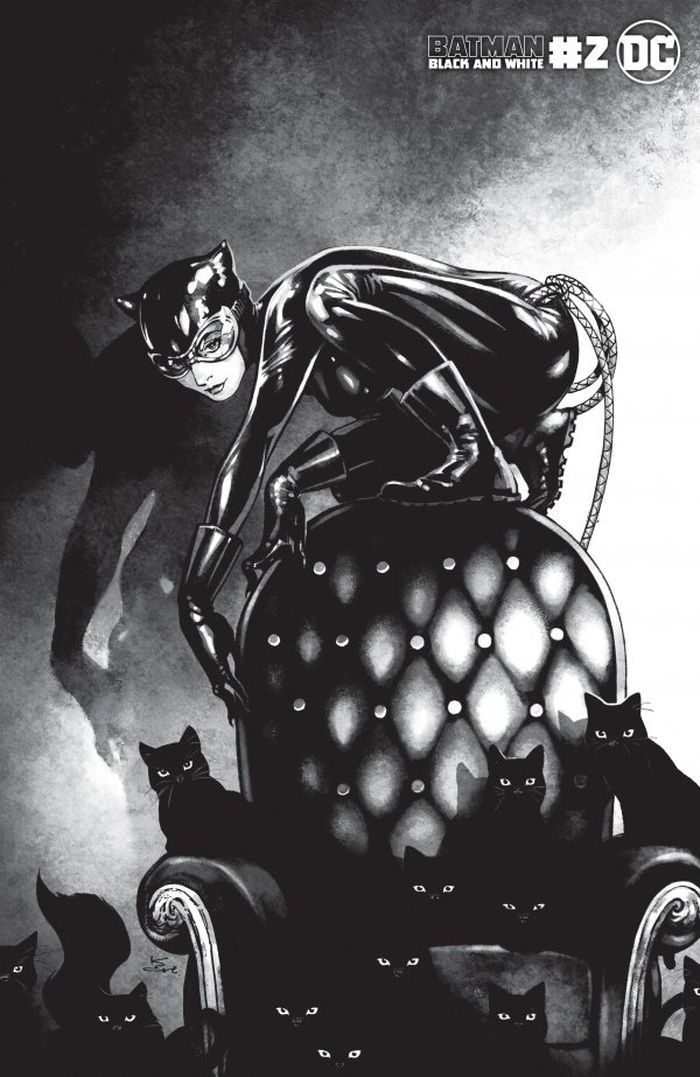 BATMAN BLACK AND WHITE #2 (OF 6) COVER C KAMOME SHIRAHAMA CATWOMAN