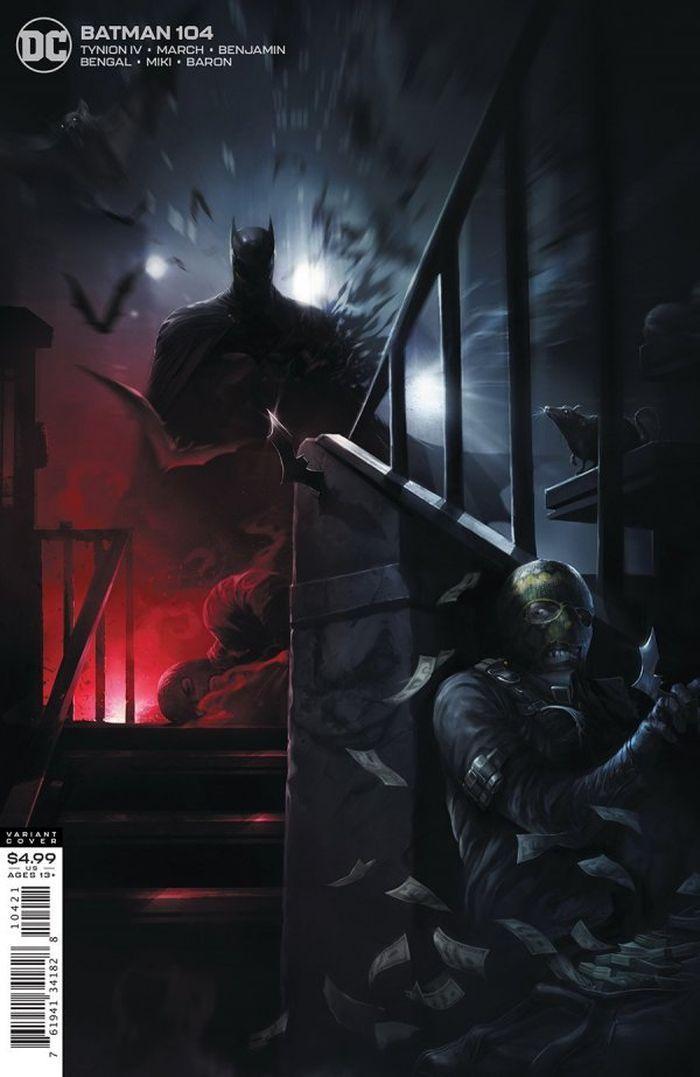 BATMAN #104 COVER B FRANCESCO MATTINA CARD STOCK VARIANT