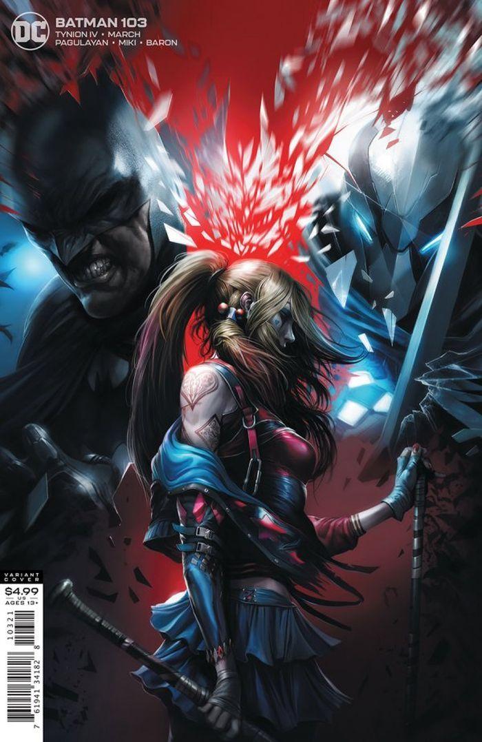 BATMAN #103 COVER B FRANCESCO MATTINA CARD STOCK VARIANT