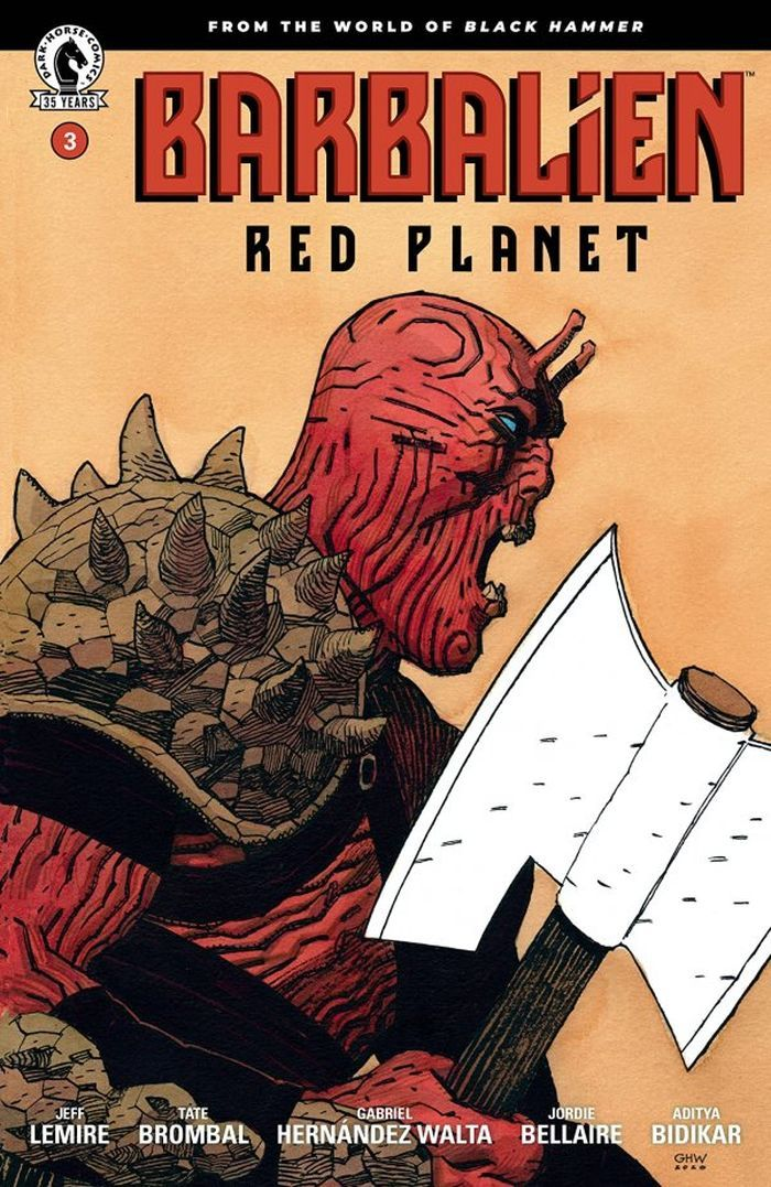 BARBALIEN RED PLANET #3 (OF 5) COVER A WALTA