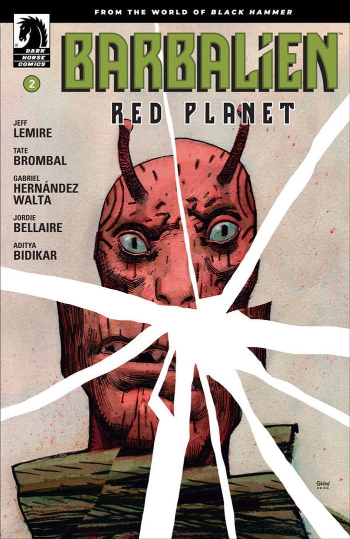 BARBALIEN RED PLANET #2 (OF 5) COVER A WALTA