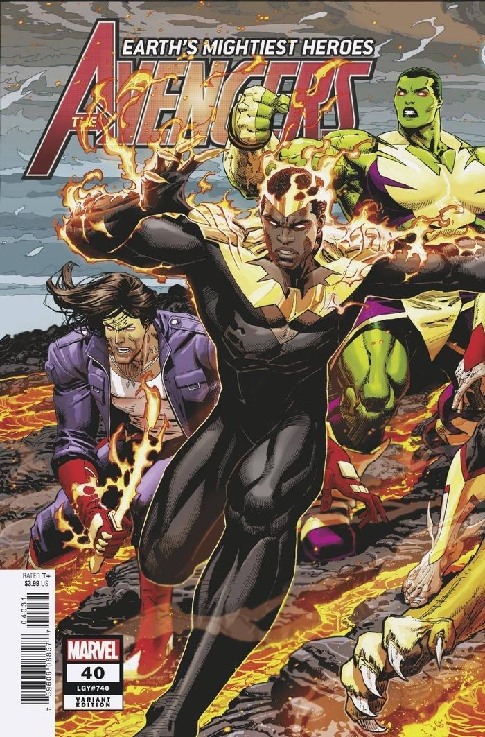 AVENGERS #40 WEAVER CONNECTING VARIANT