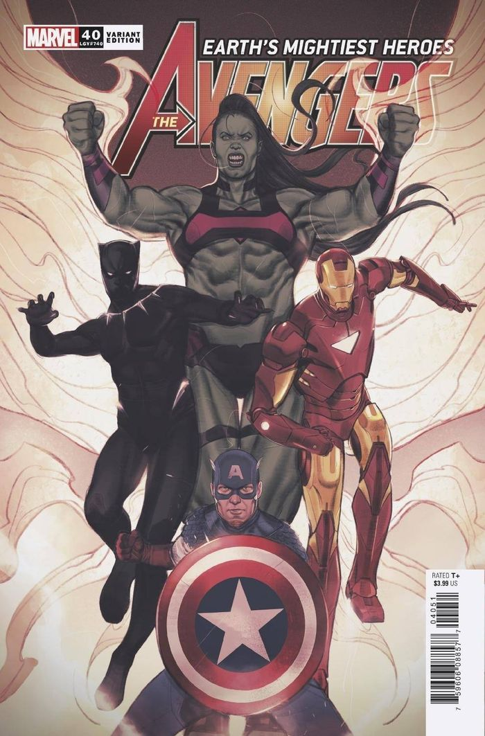AVENGERS #40 SWABY VARIANT