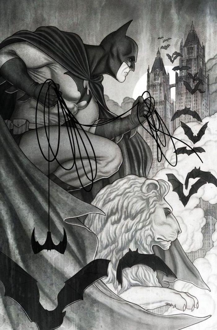 BATMAN BLACK & WHITE #5 (OF 6) COVER B JENNY FRISON VARIANT - ÖN SİPARİŞ KAPORA ÖDEMESİ