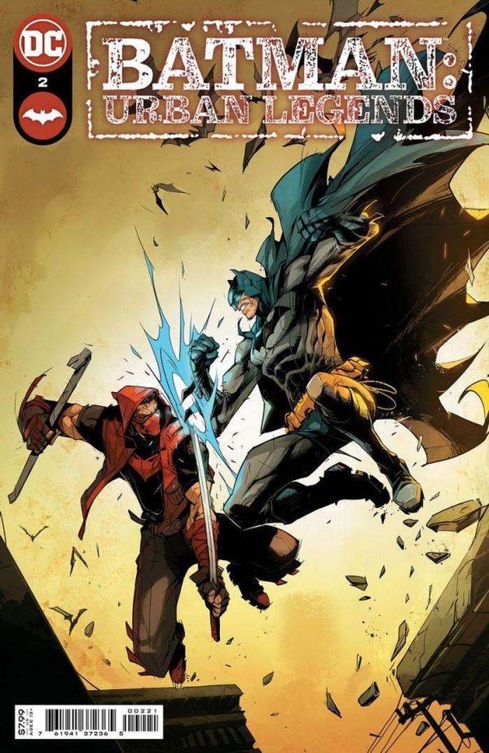 BATMAN URBAN LEGENDS #2 COVER A HICHAM HABCHI - ÖN SİPARİŞ KAPORA ÖDEMESİ
