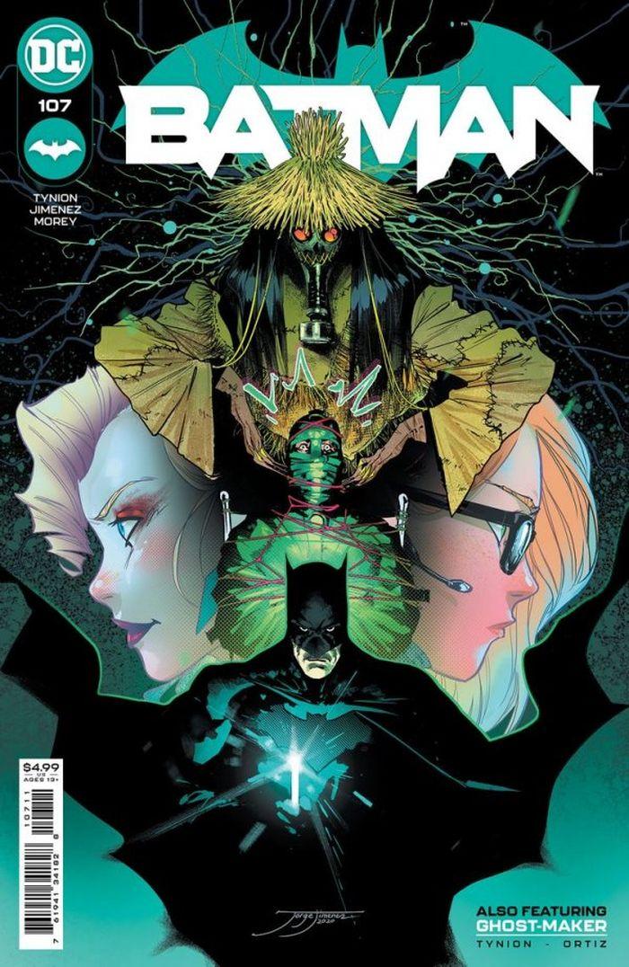 BATMAN #107 COVER A JORGE JIMENEZ - ÖN SİPARİŞ KAPORA ÖDEMESİ