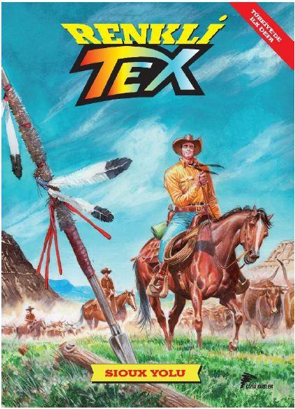 Tex Renkli Seri 9 - Sioux Yolu
