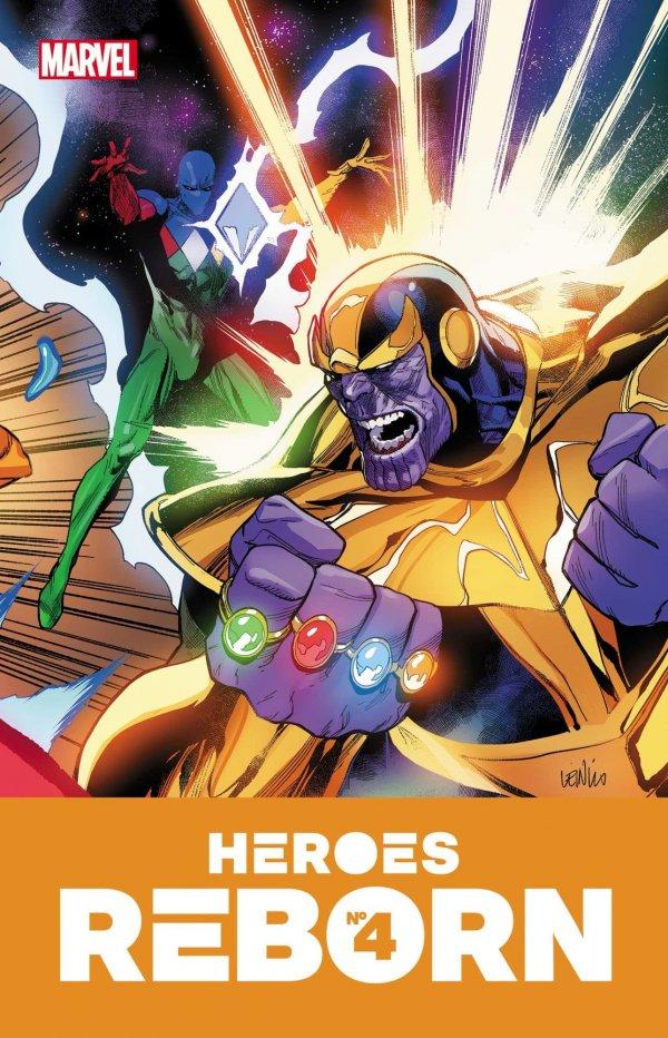 HEROES REBORN #4 (OF 7) - ÖN SİPARİŞ KAPORA ÖDEMESİ