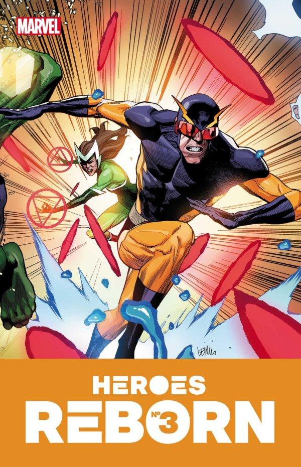 HEROES REBORN #3 (OF 7) - ÖN SİPARİŞ KAPORA ÖDEMESİ