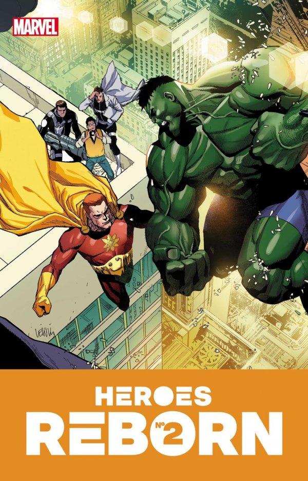 HEROES REBORN #2 (OF 7) - ÖN SİPARİŞ KAPORA ÖDEMESİ