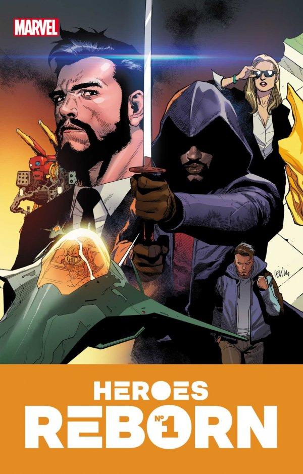 HEROES REBORN #1 (OF 7) - ÖN SİPARİŞ KAPORA ÖDEMESİ