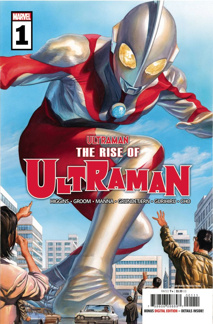 RISE OF ULTRAMAN #1 - #5 (OF 5) SET