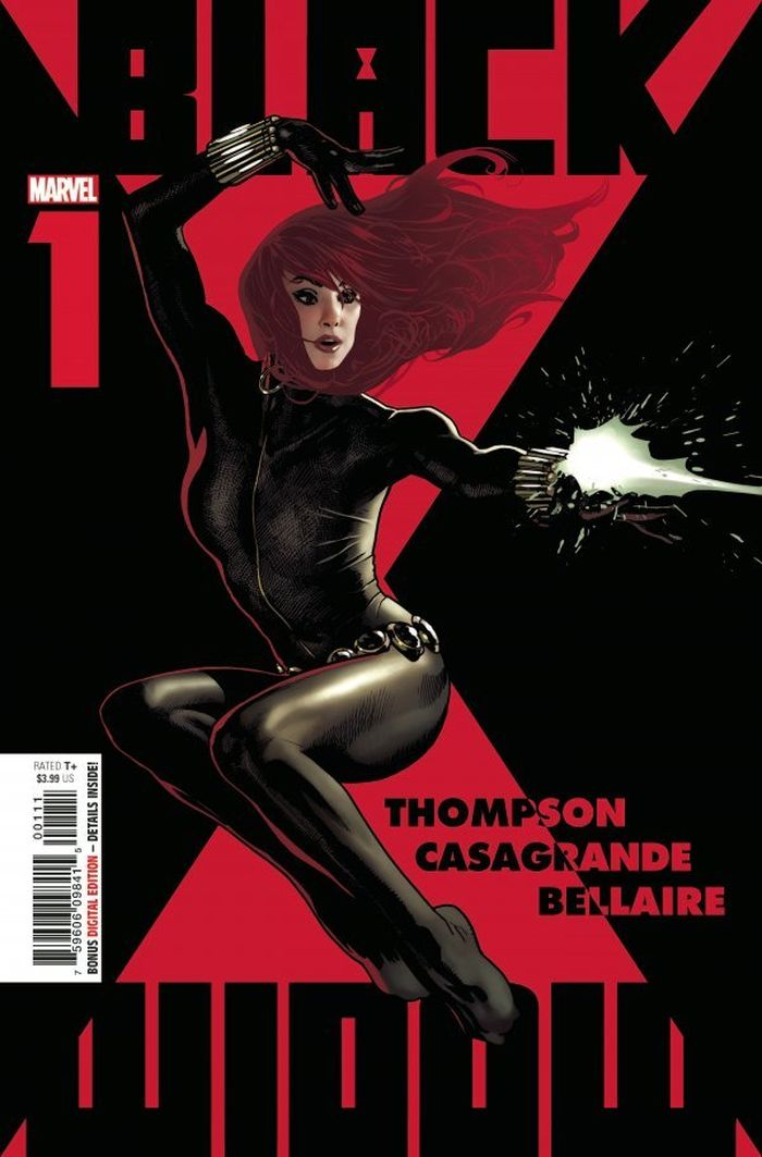 BLACK WIDOW #1 - #4 SET