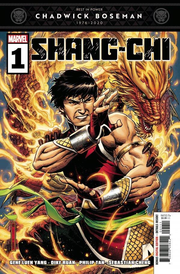 SHANG-CHI #1 - #5 (OF 5) SET