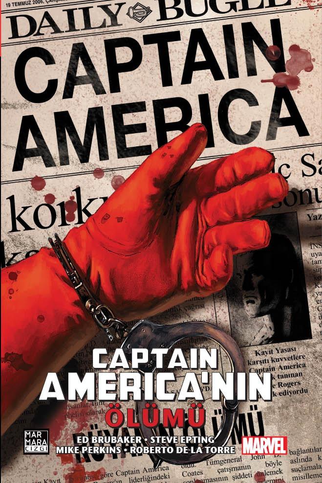 Captain America'nın Ölümü (Limitli Özel Edisyon - Sert Kapak)