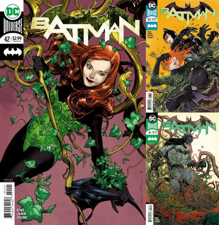 BATMAN #41 - #43 KARMA SET - EVERYONE LOVES IVY