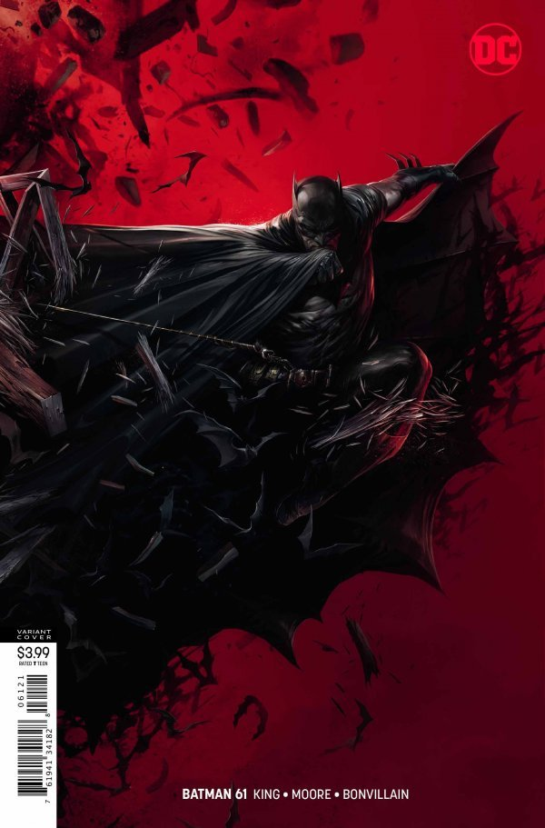 BATMAN #61 - #63 + #66 - #69 VARIANT - KNIGHTMARES SET