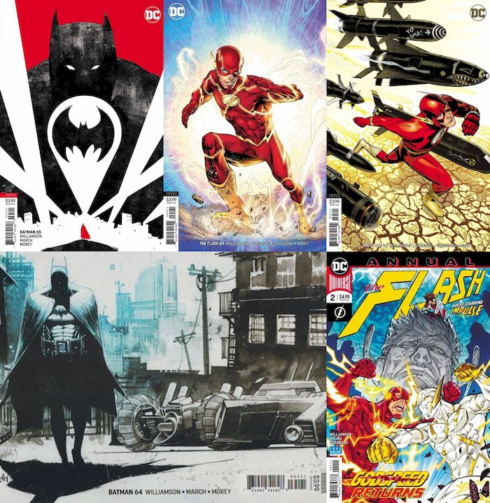 BATMAN / FLASH #64 - #65 VARIANT SET - PRICE