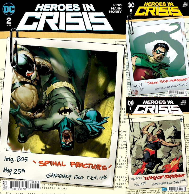 HEROES IN CRISIS #1-#9 (OF 9) SET