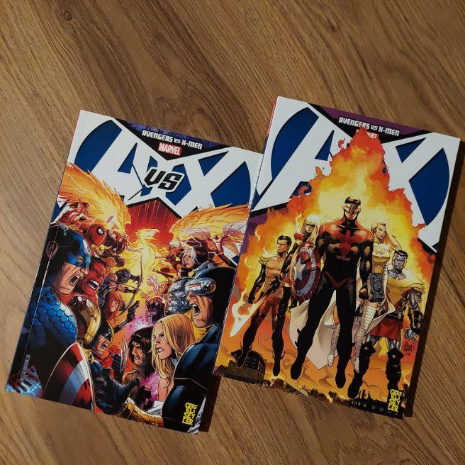 AVENGERS VS X-MEN 1-2 SET