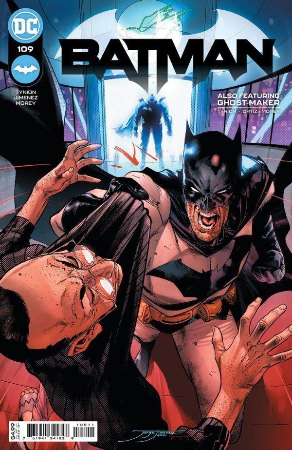 BATMAN #109 COVER A JORGE JIMENEZ - ÖN SİPARİŞ KAPORA ÖDEMESİ