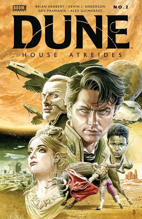 Dune: House Atreides #2 LCSD 2020 Foil Variant