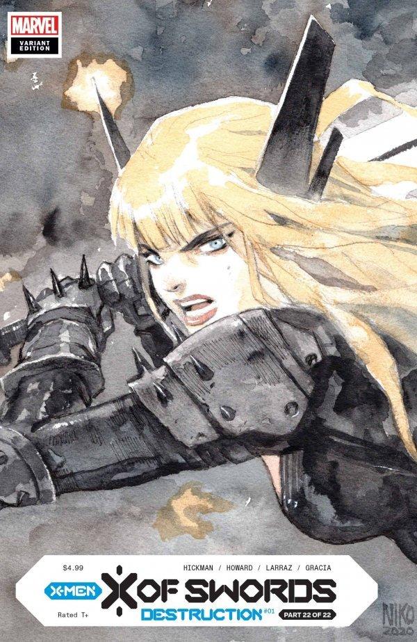 X of Swords: Destruction #1 Henrichon LCSD Variant