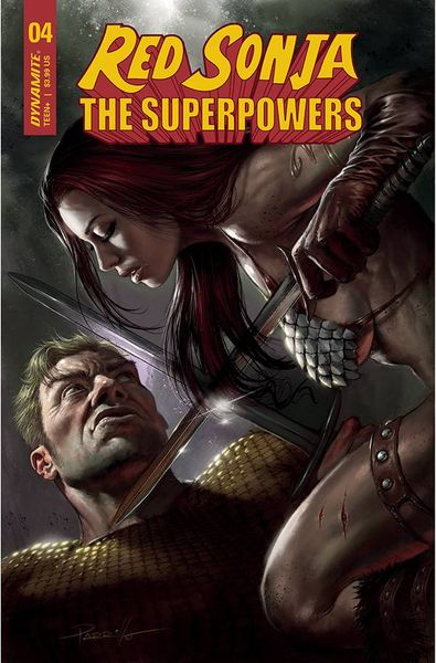 RED SONJA THE SUPERPOWERS #4 COVER A PARRILLO